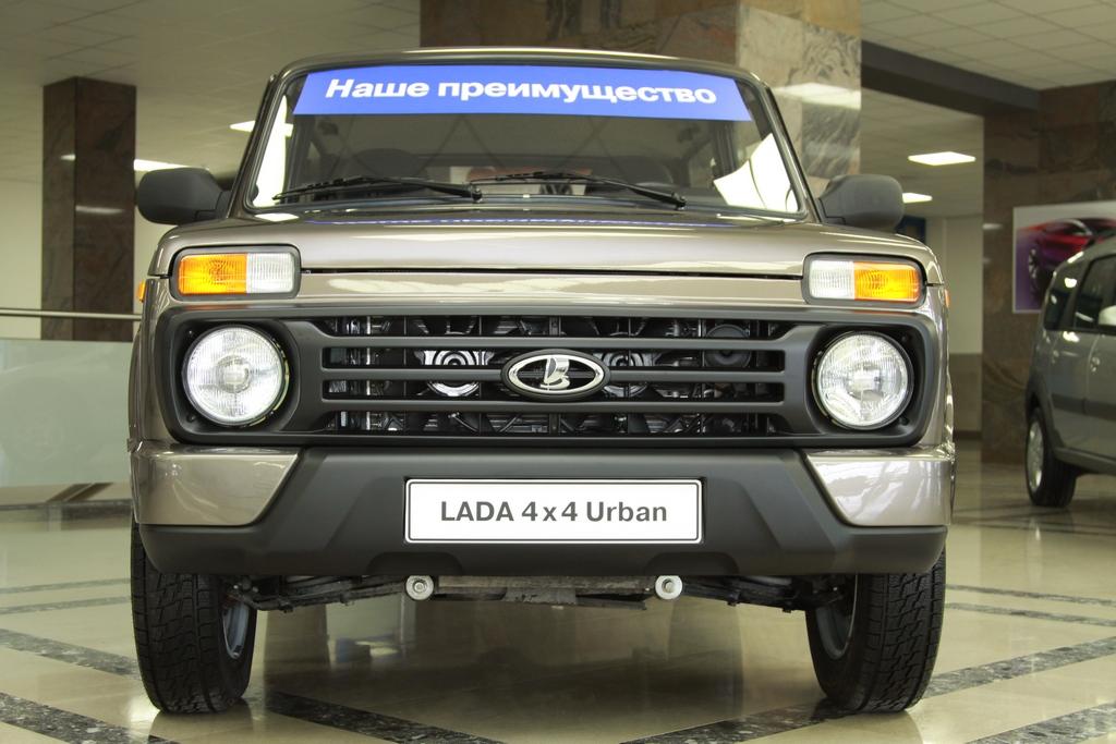 Новая Lada Urban будет стоить более полумиллиона рублей