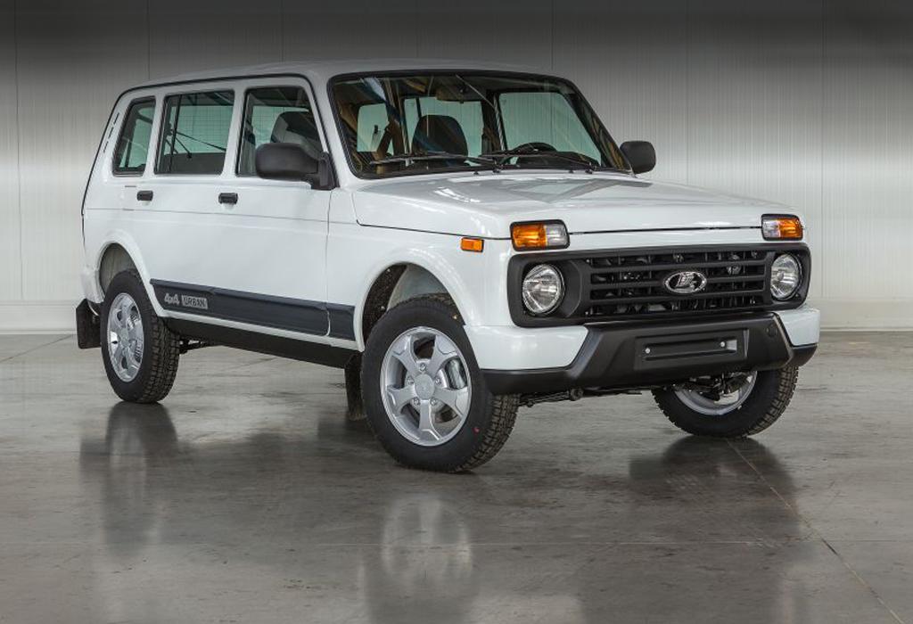 АвтоВАЗ запустил производство пятидверной Lada 4х4 Urban
