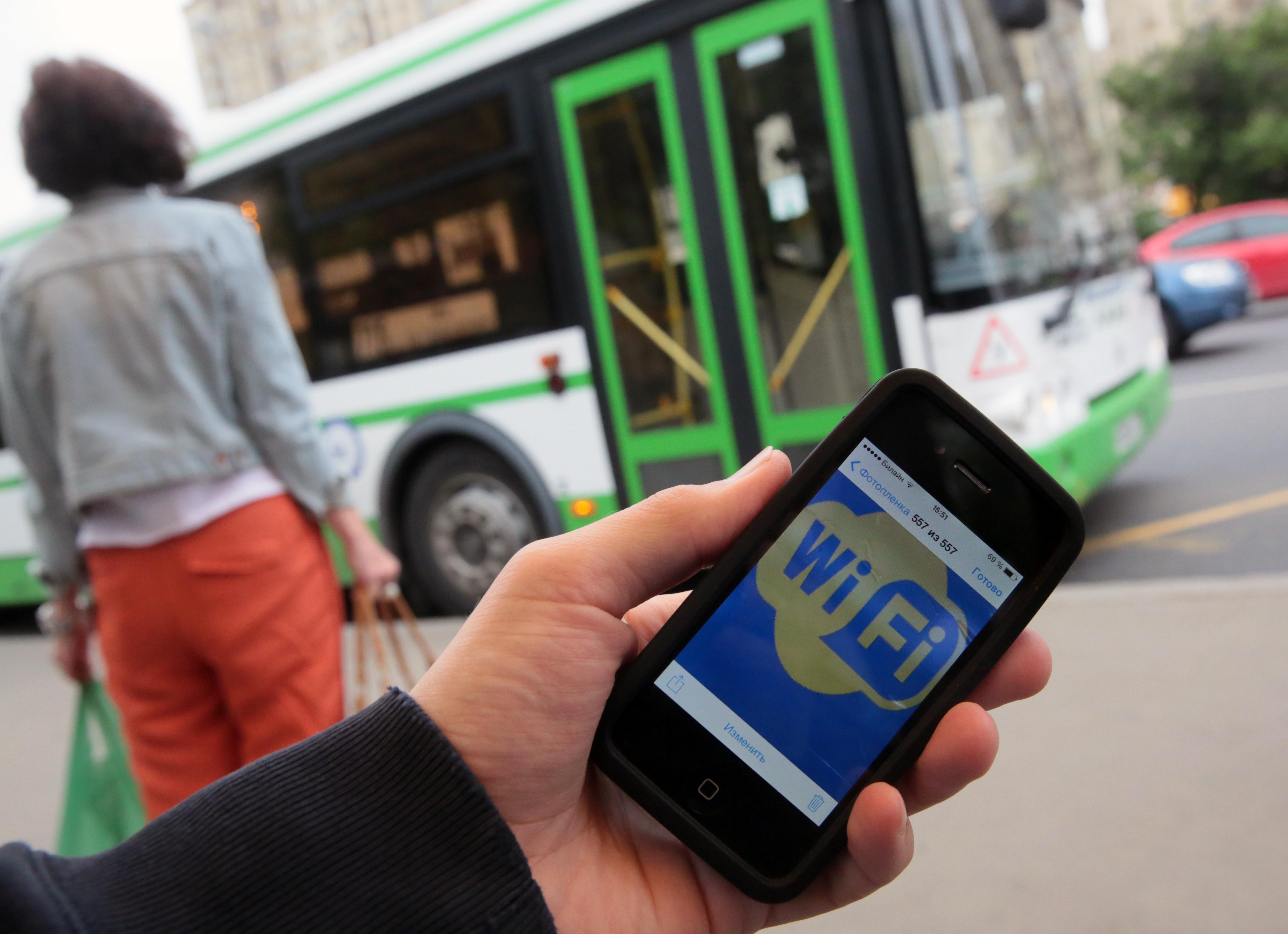 В Казани появились маршрутные автобусы с бесплатным Wi-Fi