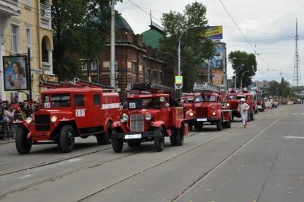 Колонна пожарной ретротехники проедет по улицам Кирова