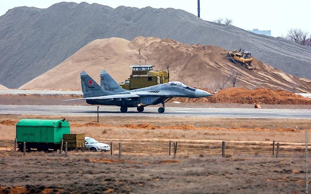 В Астраханской области открыт новейший военный аэродром Приволжский