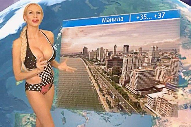 Ведущая эротических «прогнозов погоды» из Челябинска идет в Госдуму