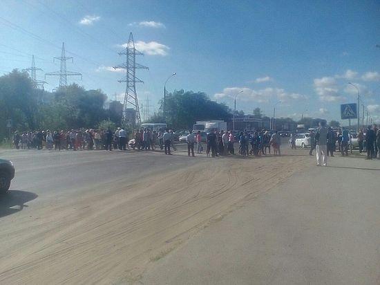 Бывшие работники «АвтоВАЗагрегата» перекрыли трассу М5