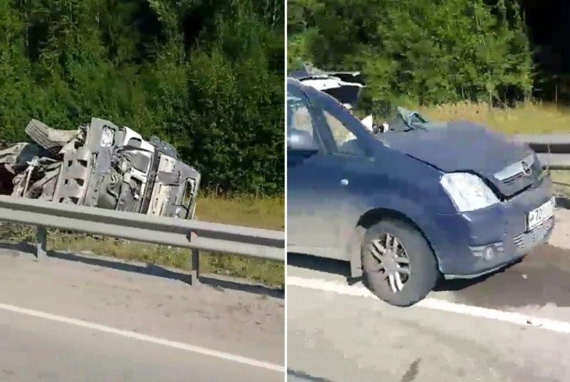 В жуткой аварии под Пермью погибли четыре человека