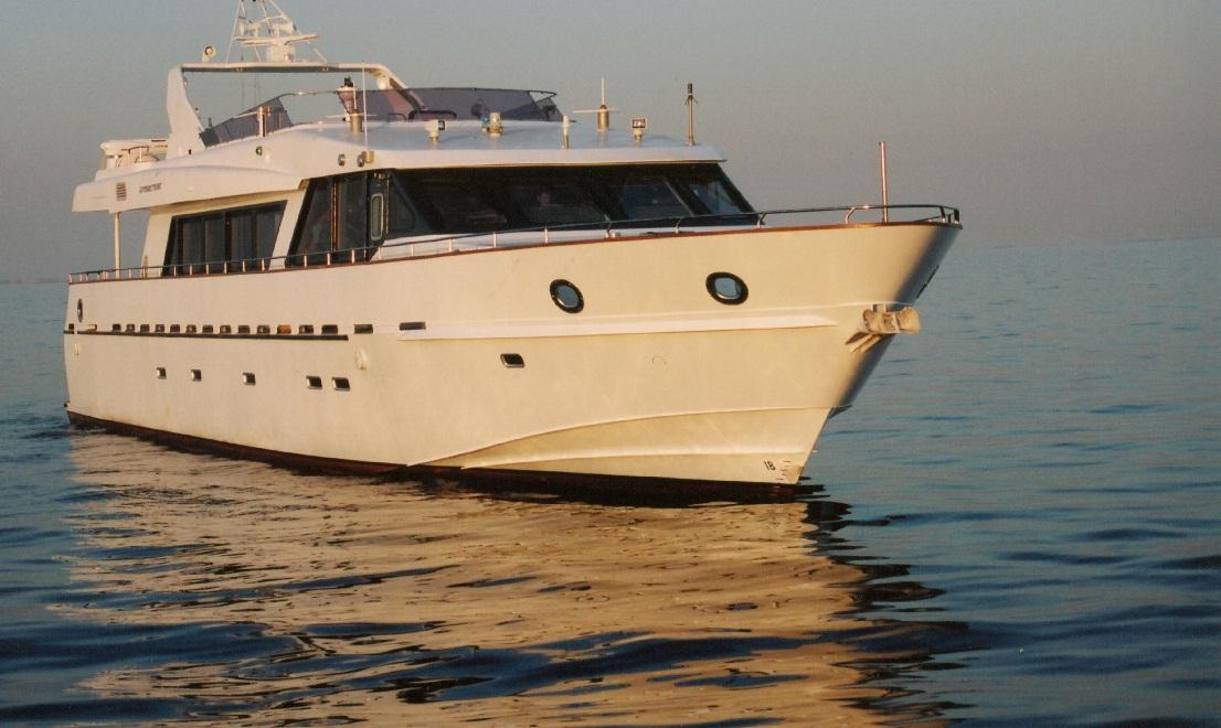 «Окская судоверфь» спустила на воду служебный катер для Минобороны