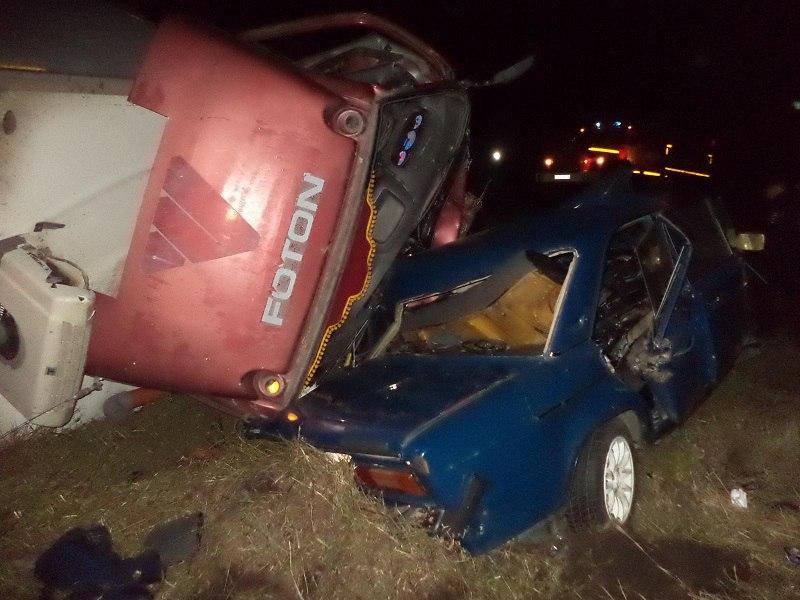На трассе Екатеринбург – Курган в ДТП с участием полицейского погибли четыре человека
