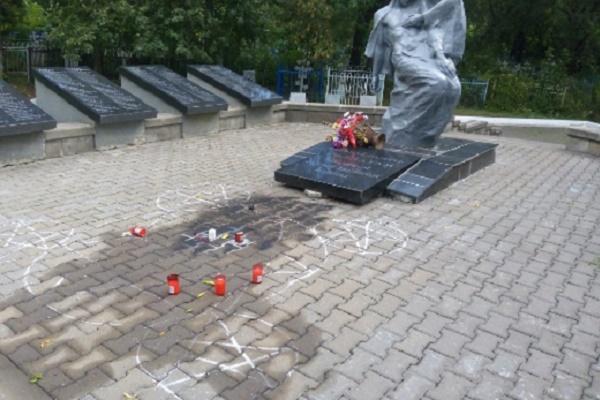 На ульяновском кладбище осквернили братскую могилу фронтовиков