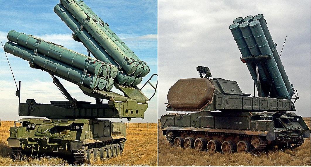 На вооружение ВС РФ поступят новые комплексы «Бук-М2» и «Бук-М3»