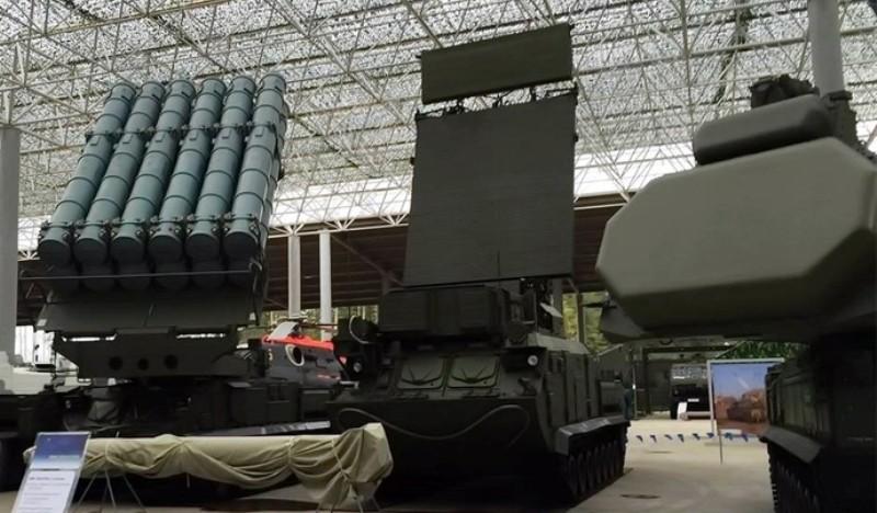 Концерн «Алмаз-Антей» передал ВС РФ бригадный комплект «Бук-М3»