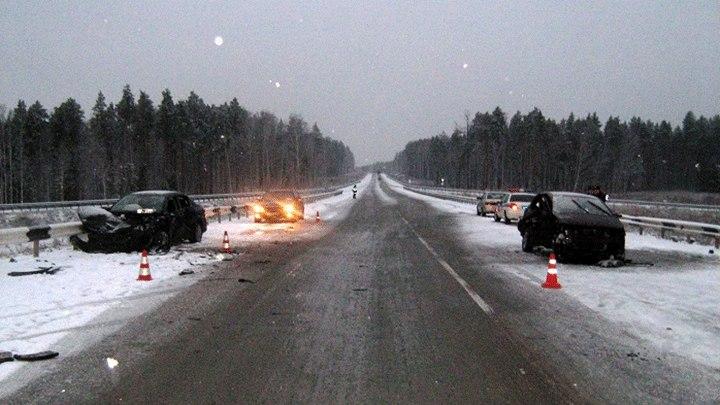 Крупное ДТП в Ульяновской области унесло жизни четырех человек