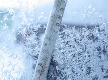 В Прикамье придут сорокаградусные морозы