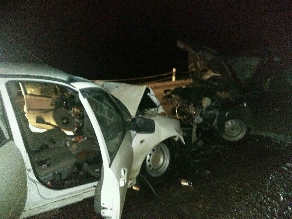 В ДТП на трассе Дюртюли-Нефтекамск погибли три человека