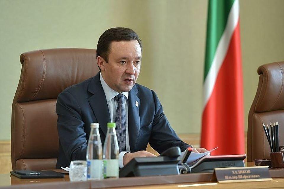 Премьер-министр Татарстана ушел в отставку по собственному желанию