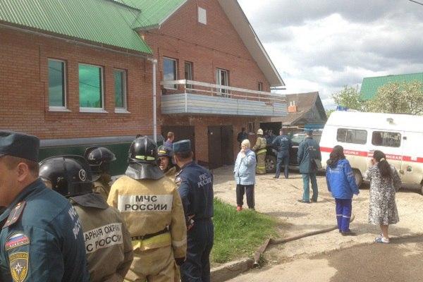 При пожаре в Ульяновске погибла семья из четырех человек