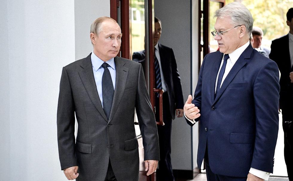 Путин поздравил коллектив концерна «Алмаз-Антей» с Днем оружейника