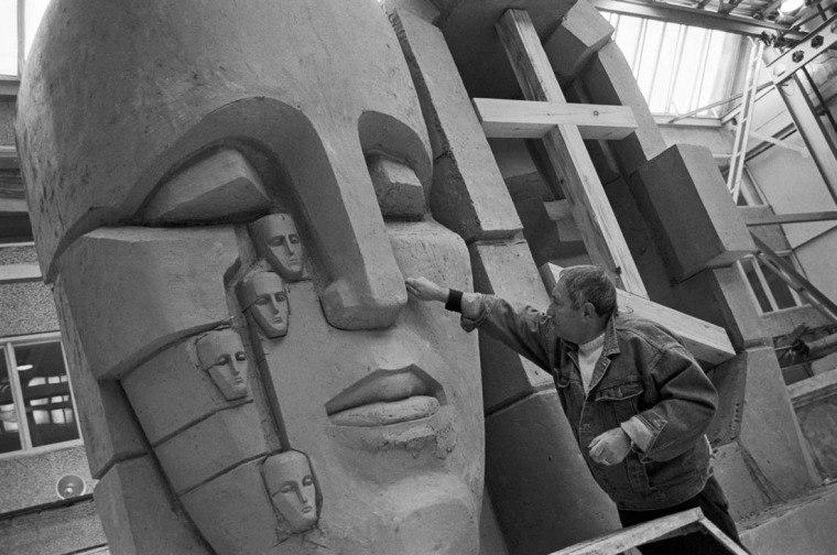 Памятник «Маски скорби» Эрнста Неизвестного установят в ноябре в Екатеринбурге