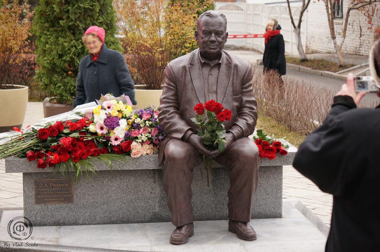 В Самаре открыли памятник Эльдару Рязанову