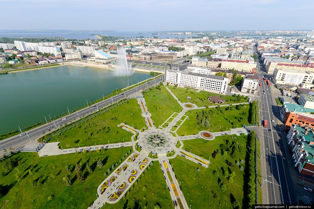 За год в Казани израсходовали более 1 млрд рублей на на благоустройство парков, скверов и водоемов