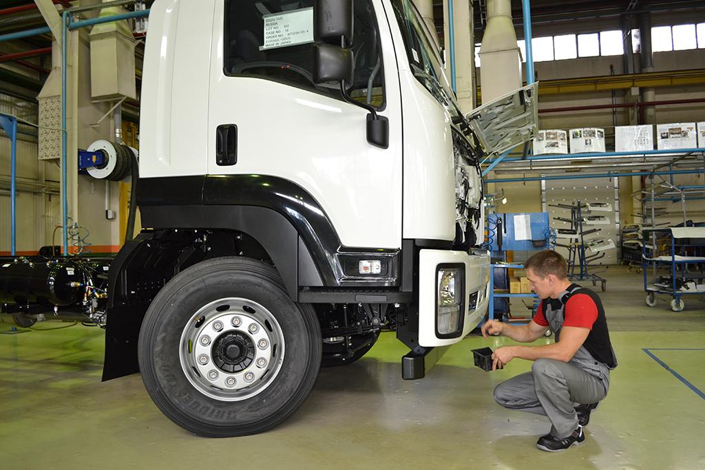 Завод Isuzu в Ульяновске за 10 месяцев нарастил выпуск грузовиков вдвое