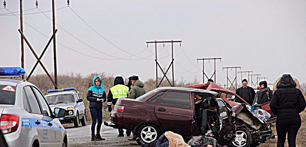 Автокатастрофа в Оренбуржье унесла жизни четырех человек
