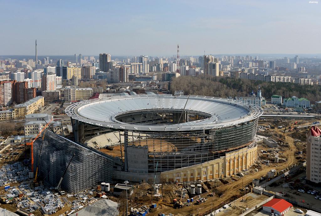 Сдачу стадиона к ЧМ в Екатеринбурге перенесли на 2018 год