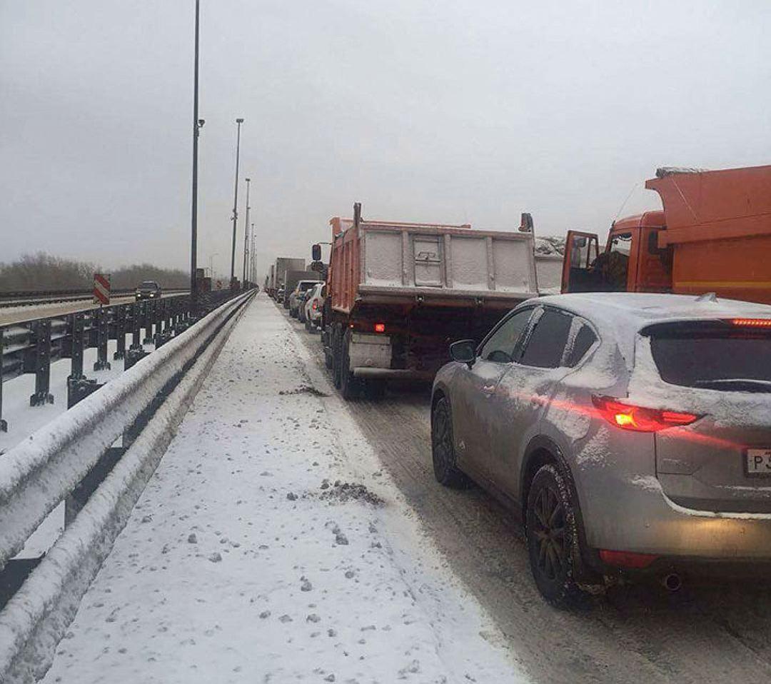 Восстановлено движение большегрузов на федеральных дорогах Самарской области