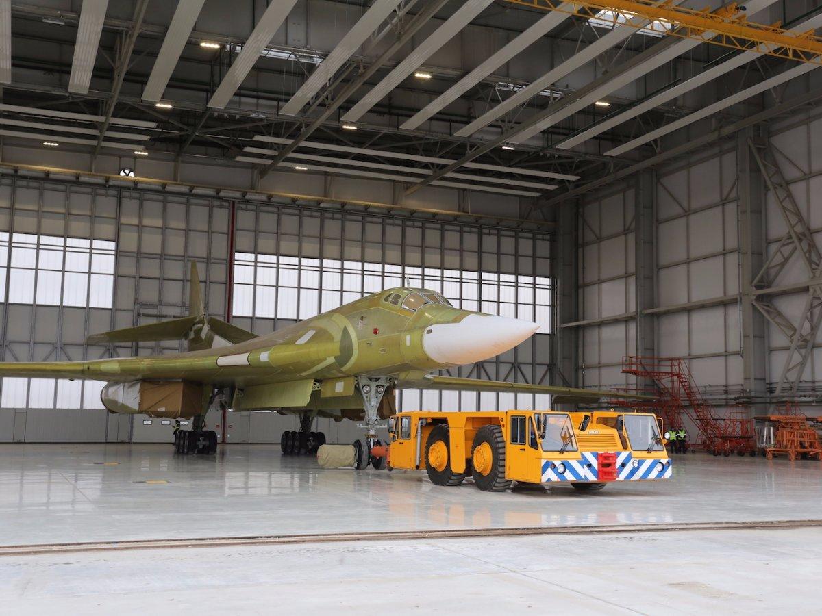 Летные испытания нового «Белого лебедя» Ту-160 начнутся в начале 2018 года