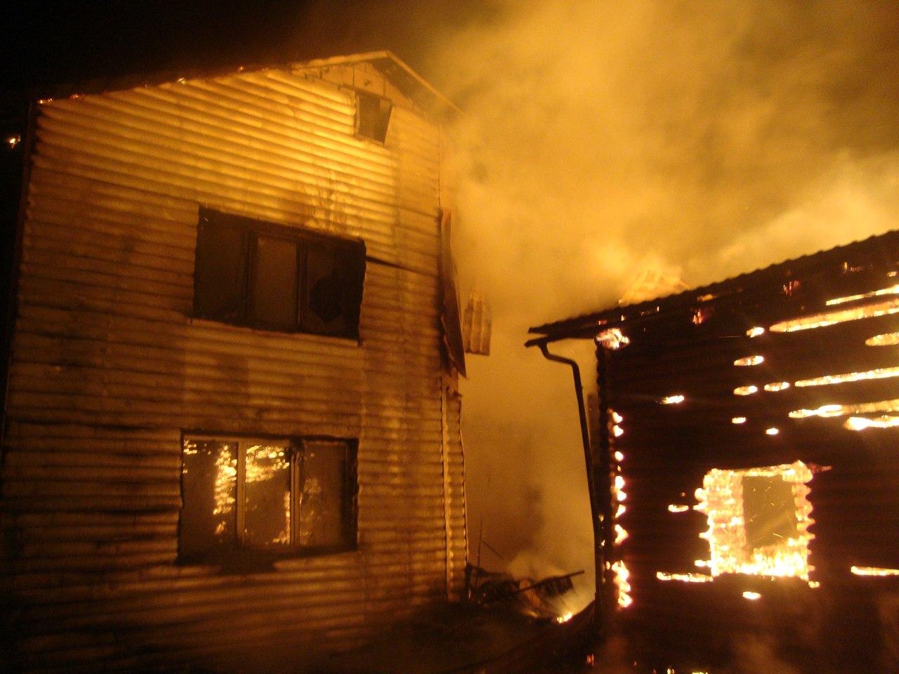 На пожаре в Пермском крае погибли пять человек, в том числе двое детей