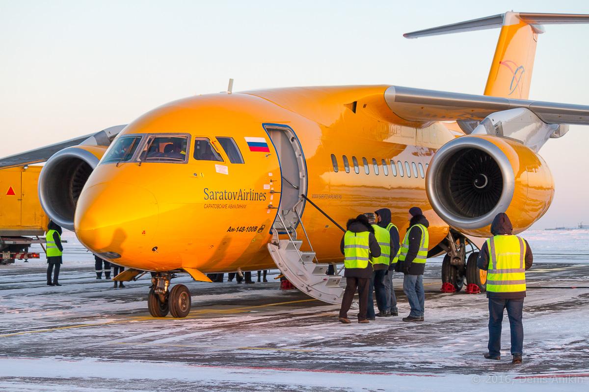 «Саратовские авиалинии» приостановили эксплуатацию Ан-148