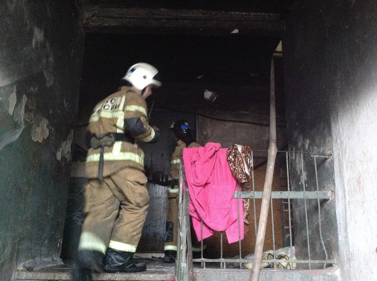 Трое детей стали жертвами пожара в Нижегородской области