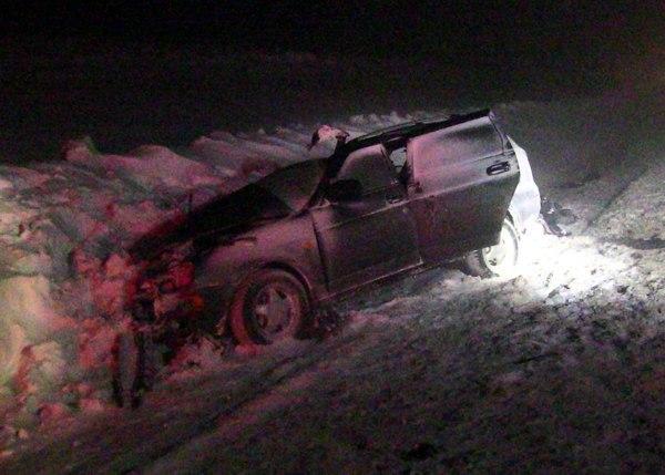 Четыре пассажира «Приоры» погибли в ДТП в Самарской области