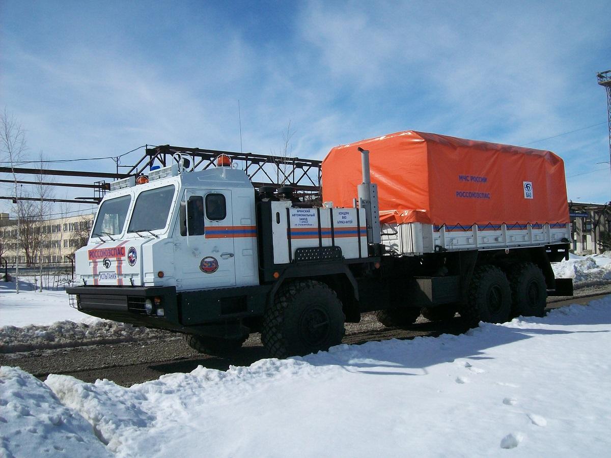 Арктический вездеход для спасателей создали в Концерне «Алмаз-Антей»