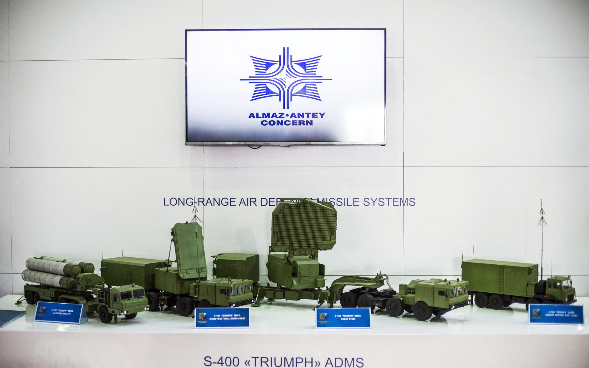 «Алмаз-Антей» покажет на авиасалоне Eurasia Airshow-2018 «Триумфы», «Буки» и «Торы»