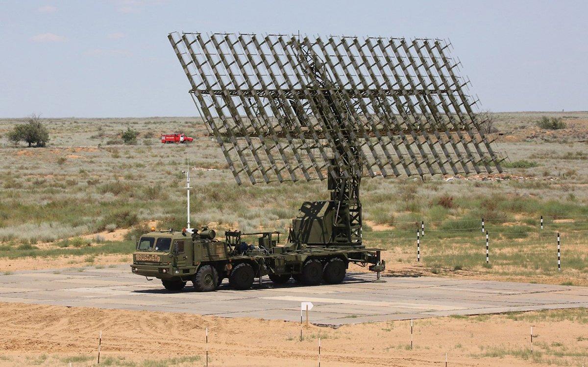 Новая радиолокационная станция «Небо-М» поступила на вооружение войск в Поволжье