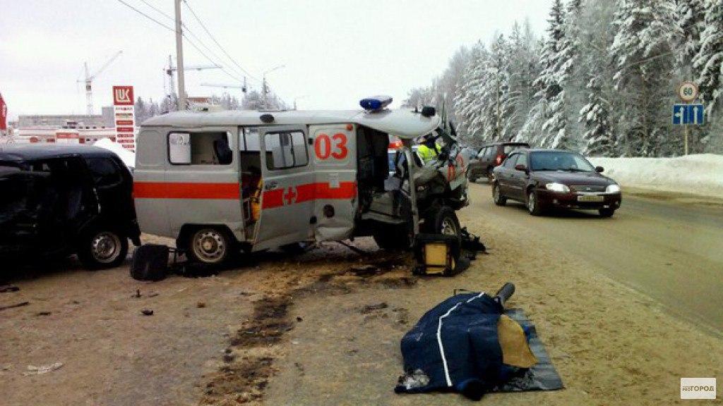 Водитель и пассажир «скорой помощи» погибли в ДТП в Самарской области
