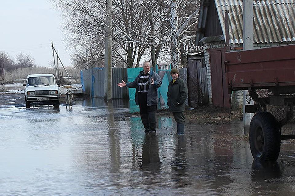 Почти 700 дворов подтоплено паводком в Саратовской области