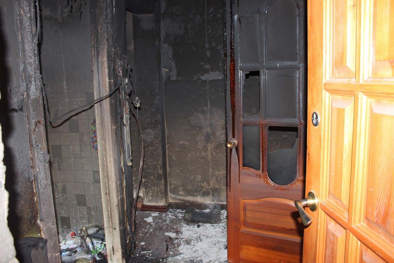 На пожаре в Кировской области погибли три человека