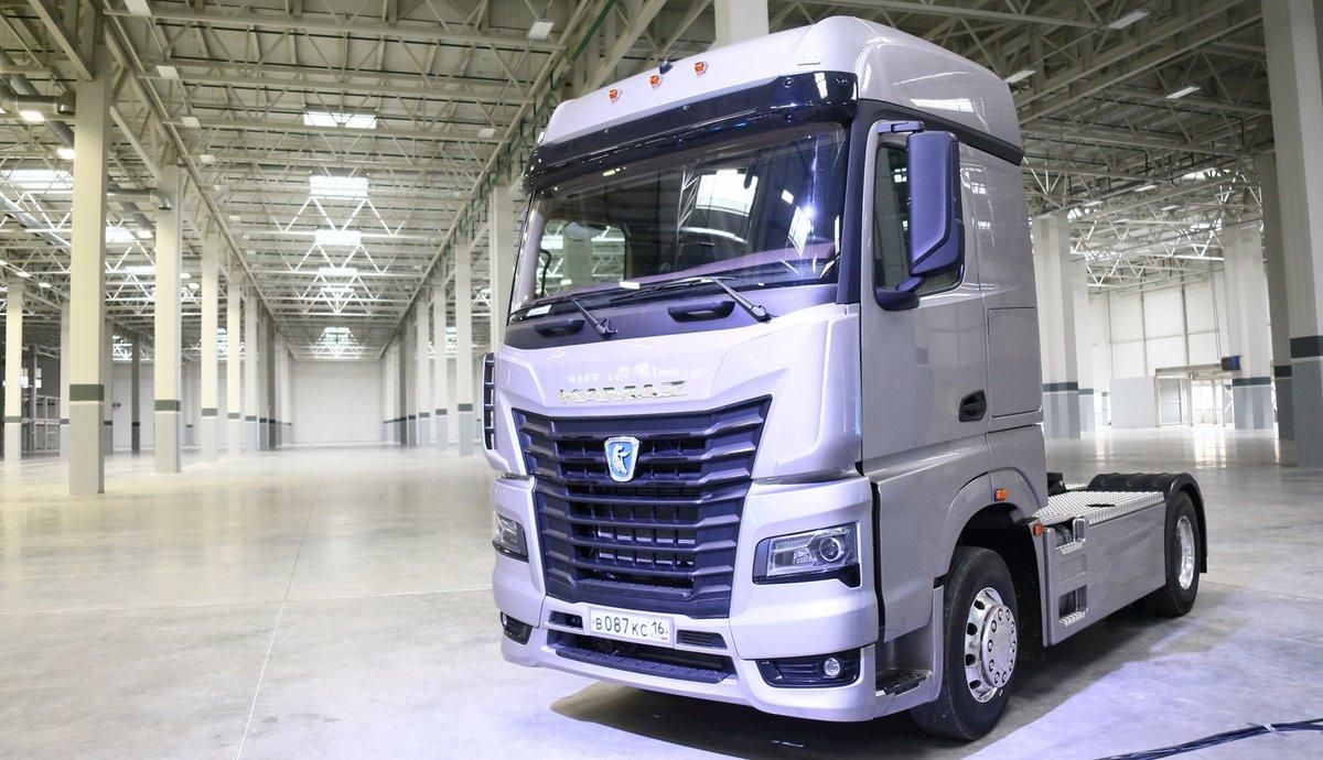 КАМАЗ планирует выпустить 80 автомобилей новой модели с кабиной К5 в 2018 году