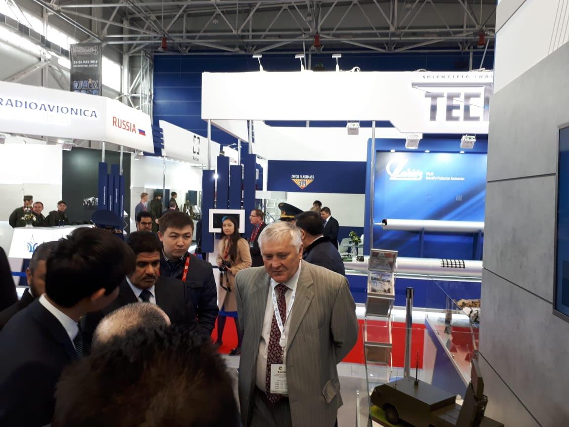 Россия заключила первые контракты на выставке KADEX-2018 в Астане