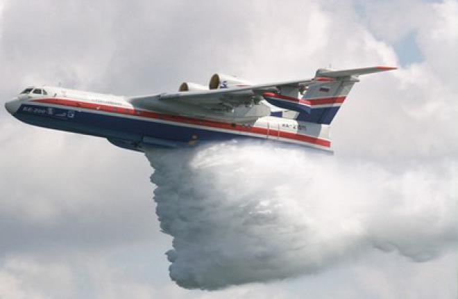 Авиация МЧС сбросила на пожар в Удмуртии 53 тонны воды