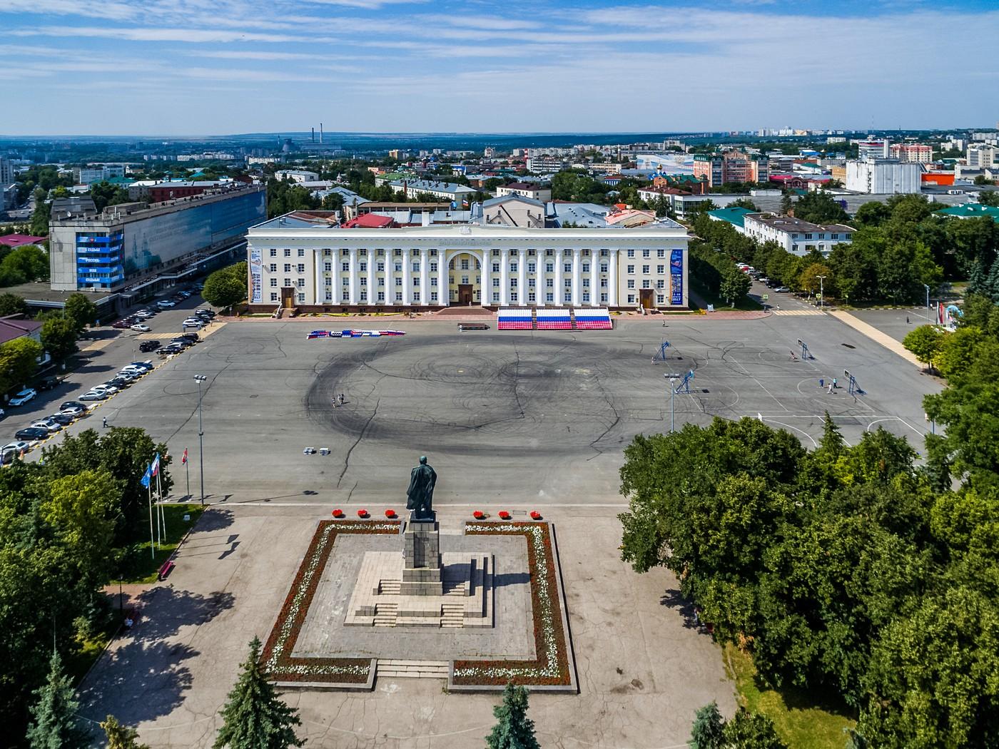 Ульяновскую площадь Ленина переименовали в Соборную