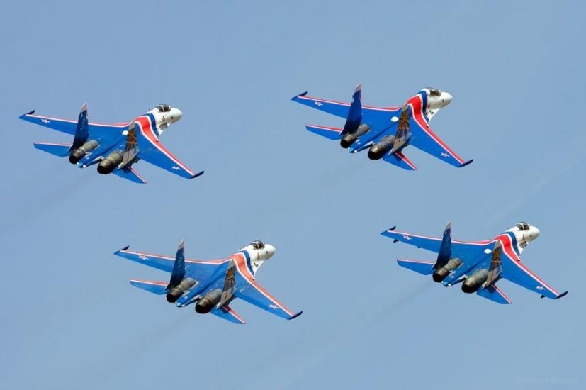 Группа высшего пилотажа «Русские Витязи» выступит на авиафестивале в Перми