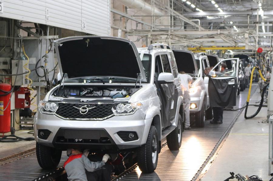 УАЗ прогнозирует рост производства во втором полугодии