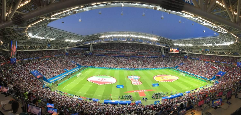 Матчи ЧМ-2018 на стадионе «Казань-Арена»посмотрели более 254 тыс. зрителей