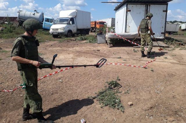 Более 500 артиллерийских снарядов найдено около фермы в Самарской области