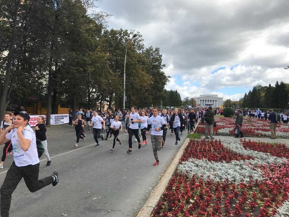 Более 47 тыс. человек стали участниками «Кросса наций» в Екатеринбурге