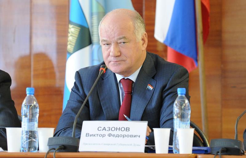 Спикер Самарской губернской думы Виктор Сазонов умер в возрасте 70 лет