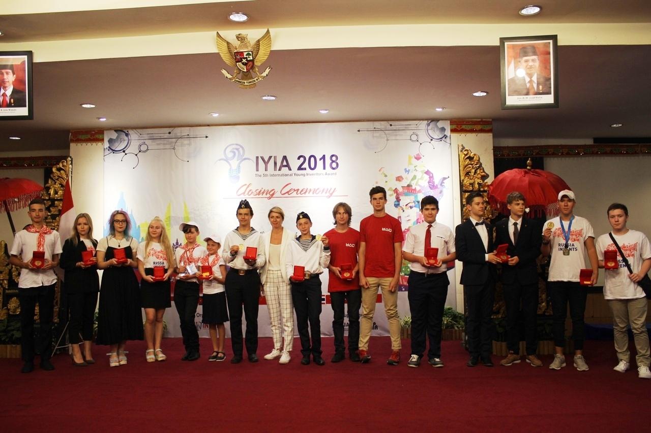 Нижегородцы привезли две золотых медали с Международной выставки юных изобретателей