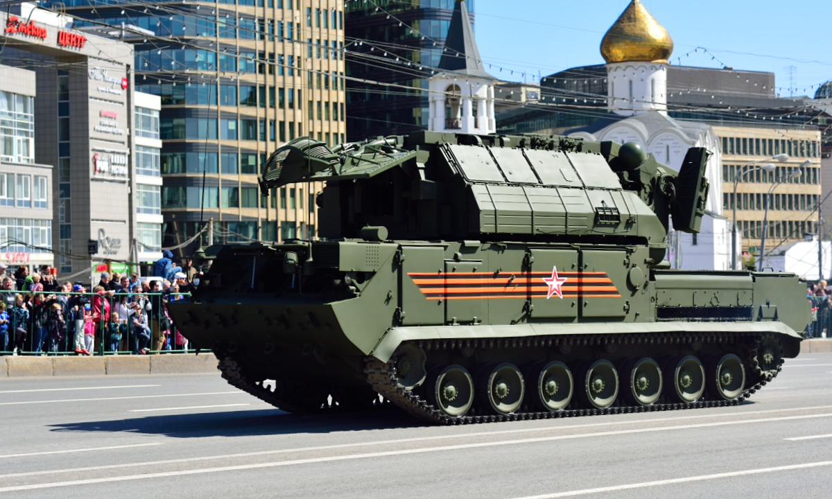 ЗРК «Тор-М2У» уничтожили условные воздушные цели в Астраханской области