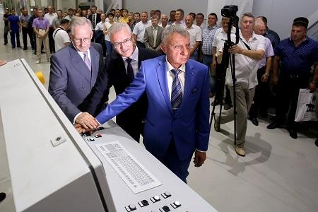 Новую бумагоделательную машину запустил Пензенский бумкомбинат «Маяк»